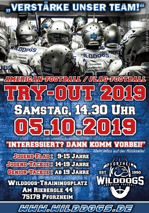 TryOut Herbst 2019